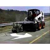 Locação de fresadora de asfalto para bobcat